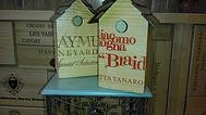 Wooden Bird Houses by Gerry Bilderback
