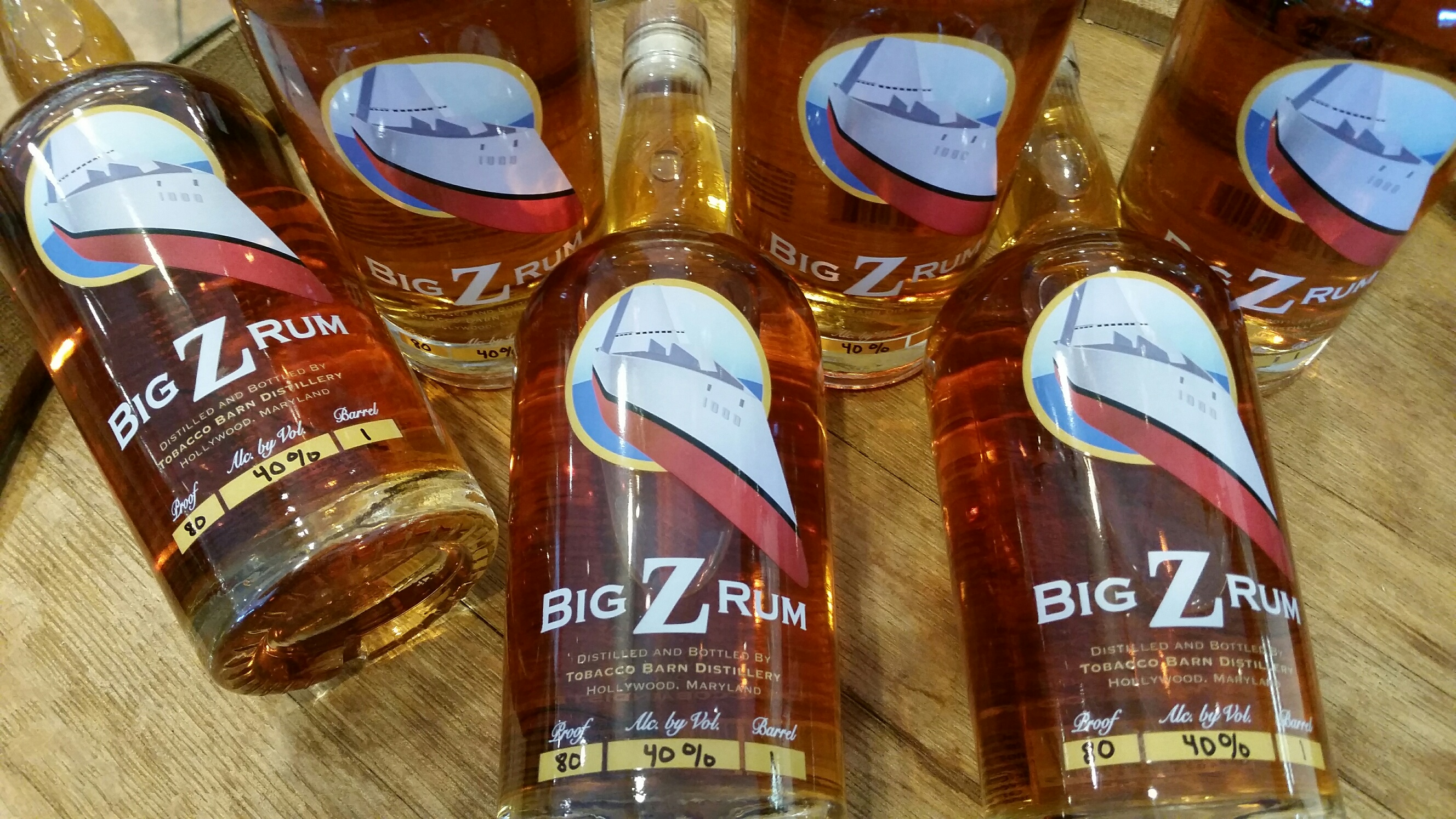 Big Z Rum from Tobacco Barn Distillery