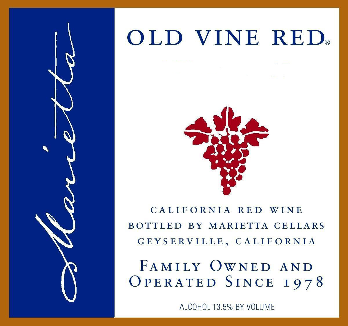 W.O.W. for Aug. 24 to 30: 90 Point, Old Vine Red Blend